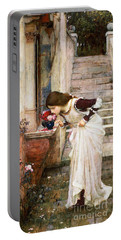 The Shrine Portable Battery Charger by John William Waterhouse
