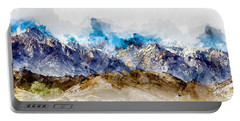 The Sierras Portable Battery Charger