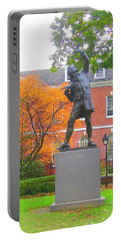Portable Battery Charger featuring the photograph The Signer by J R Seymour