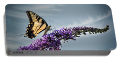 Portable Battery Charger featuring the photograph The Sky Is The Limit by Judy Wolinsky