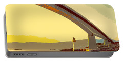 The Skye Bridge And Kyleakin Lighthouse  Portable Battery Charger