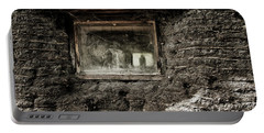 Portable Battery Charger featuring the photograph The Sod House by Brad Allen Fine Art
