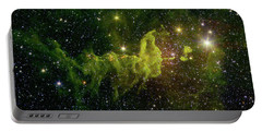 Portable Battery Charger featuring the photograph The Spider And The Fly Nebula by NASA JPL - Caltech