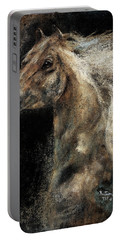 Portable Battery Charger featuring the painting The Spirit Of Freedom - W1 by Barbie Batson