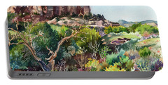 The Spirit Of Ghost Ranch Portable Battery Charger