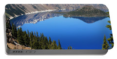 The Splendor Of Crater Lake Portable Battery Charger