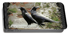 The Spooky Ravens Portable Battery Charger