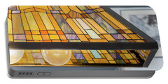 The Stained Glass Portable Battery Charger