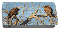 Portable Battery Charger featuring the photograph The Stare Down 2017-1 by Thomas Young