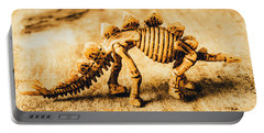 The Stegosaurus Art In Form Portable Battery Charger