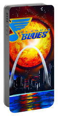 The Stl Blues Portable Battery Charger