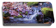 The Stream In Fall Portable Battery Charger