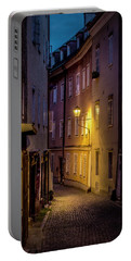 Portable Battery Charger featuring the photograph The Streets Of Salzburg by David Morefield