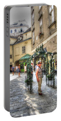 The Streets Of Vienna Austria Portable Battery Charger by Yury Bashkin