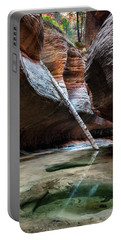The Subway At Zion National Park Portable Battery Charger