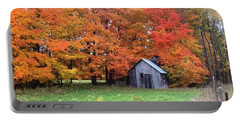 Portable Battery Charger featuring the photograph The Sugar Shack by Pat Purdy