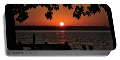 Portable Battery Charger featuring the photograph The Sun Rises Over The Bay by Mark Dodd
