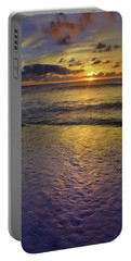 Portable Battery Charger featuring the photograph The Sun Sets Softly In Molokai by Tara Turner