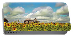 The Sunflower Farm Portable Battery Charger by Darren Fisher