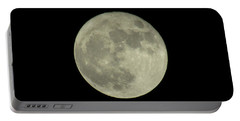 Portable Battery Charger featuring the photograph The Super Moon 3 by Robert Knight