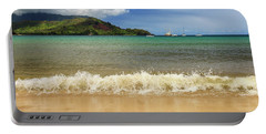 The Surf At Hanalei Bay Portable Battery Charger