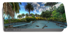 The Swimming Pool Of The Former Summer Vacation Building - La Piscina Dell'ex Colonia Marina Portable Battery Charger