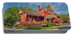Portable Battery Charger featuring the photograph The Sykesville B And O Train Station by Mark Dodd
