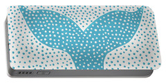 The Tail Of The Dotted Whale Portable Battery Charger