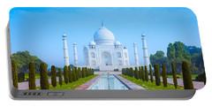The Taj Mahal Of India Portable Battery Charger