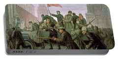 The Taking Of The Moscow Kremlin In 1917 Portable Battery Charger