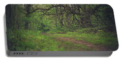 Portable Battery Charger featuring the photograph The Taking Tree by Shane Holsclaw