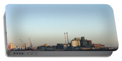 Portable Battery Charger featuring the photograph The Tate And Lyle Sugar Factory -silvertown - London by Mudiama Kammoh