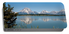 The Tetons On Jackson Lake - Grand Teton National Park Wyoming Portable Battery Charger