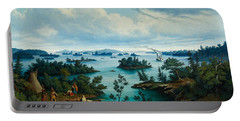 The Thousand Islands In The Saint Lawrence River In Canada Portable Battery Charger
