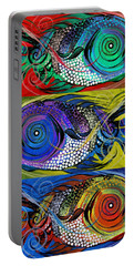 The Three Fishes Portable Battery Charger