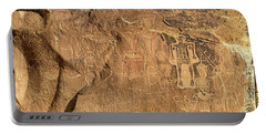 The Three Kings Petroglyph Panel Portable Battery Charger