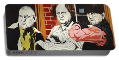 The Three Stooges Portable Battery Charger