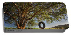 The Tire Swing Portable Battery Charger