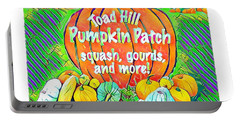 The Toad Hill Pumpkin Patch Portable Battery Charger