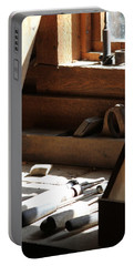 Portable Battery Charger featuring the photograph The Tools by Laddie Halupa