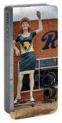 The Tornadoes Cheerleader Portable Battery Charger