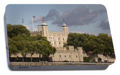 Portable Battery Charger featuring the photograph The Tower Of London. by Christopher Rowlands
