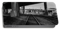 The Tracks And The Overpass Portable Battery Charger