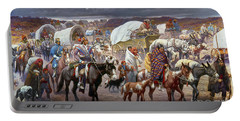 The Trail Of Tears Portable Battery Charger