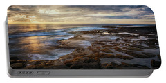 Portable Battery Charger featuring the photograph The Tranquil Seas by Susan Rissi Tregoning