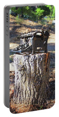 The Tree Killer Portable Battery Charger by Timothy Bulone