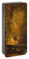 Portable Battery Charger featuring the photograph The Trout Pool by John Stephens