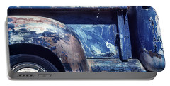 The Truck In Abstract Paint Portable Battery Charger