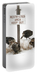 The Turkey Patrol Portable Battery Charger