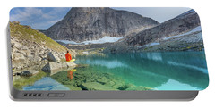 The Turquoise Lake Portable Battery Charger